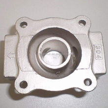 China supplier stainless steel silica sol precision casting with machining