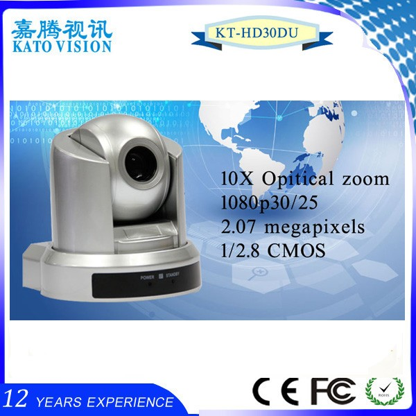 Full hd high speed auto motion tracking 10X optical zoom ptz ip camera