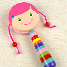 wholesale good quality children model interesting educational small hand bell baby toys