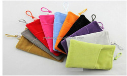 mobile phone charging treasure bag 3-5 inch kangaroo Mo Fan velvet bag