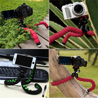 Phone Holder Flexible Octopus Tripod Bracket Selfie Stand Mount Monopod For Mobile Phone Camera