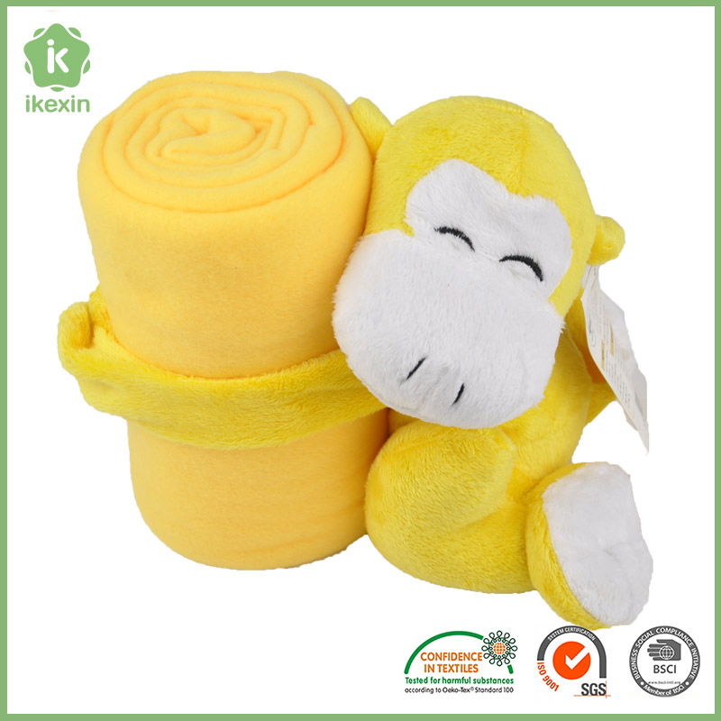 2016 Eco Friendly Animal Shaped Soft Polyester Blankets