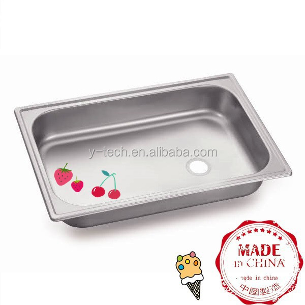 Single Small Stainless Steel Sink Wall Mount Kitchen Sink Modern Kitchen  Designs YK1624