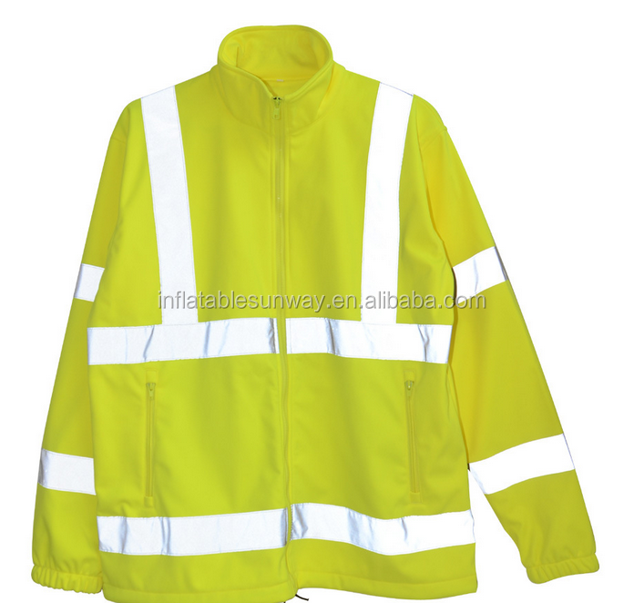 2016 New Product Class 3 Long Sleeves Reflective Safety Vest