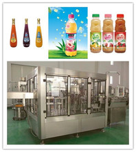 Mango pulp juice manufacturing process 4-in-1 pet bottle fruit juice filling and packing machine