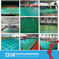 made in China PVC sports flooring