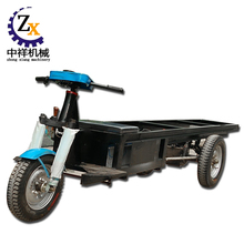 Industrial flatbed cargo dumper tricycle