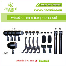ACEMIC DM7C good quality professional stage wired drum mic kit