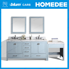 American modern style complete bathroom furniture sets 60 inch solid wood bathroom