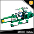 Vivid 88 pcs earth border series blazing extreme building block set toy with action figure