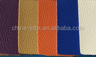 Textile Raw PVC leather for car seat material