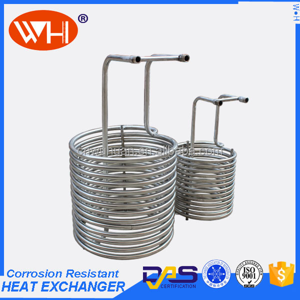 "LOW PRICE 1/2"" x 50' beer stainless steel pipe coil wort chiller"
