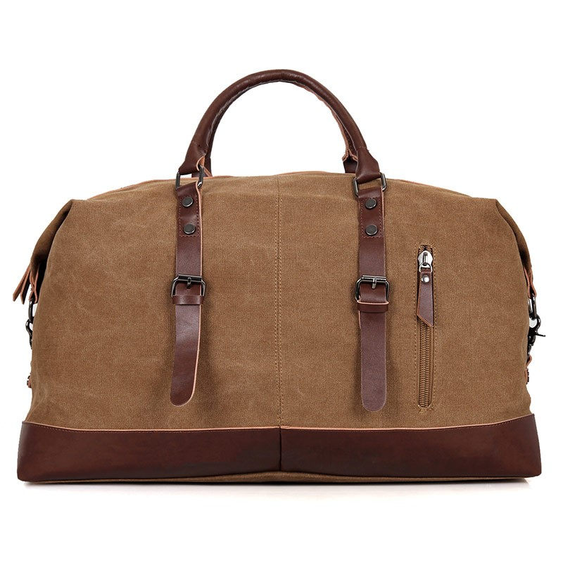 9038C Hot Selling Big Capacity Popular Canvas Duffel Bags for Men Travel Bag