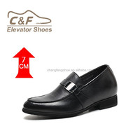 black man made sole pure leather shoes for retailer