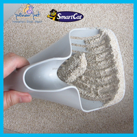 New Plastic Cat Pet Animal Litter Tray Poop Scoop Sieve Poo Litter