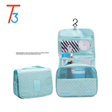 Aliexpress Nylon Hanging toiletry Travel <strong>Bag</strong> Wash Makeup Cosmetic <strong>Bag</strong> Organizer