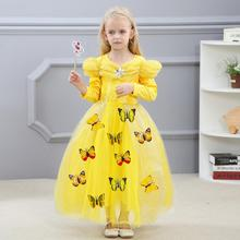 Kids fashion dresses pictures new cinderella style ball gown dress costumes for party wear BXHD02