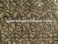 high quality sequin embroidery fabric