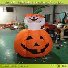 Sell Well halloween inflatable pumpkin bounce house for your choice