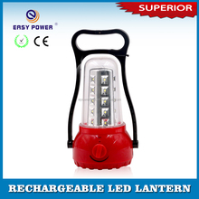 Outdoor Camping Solar Power LED Emergency Rechargeable Lantern with USB port