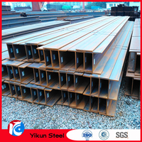 Q235B mils steel h beam for sales