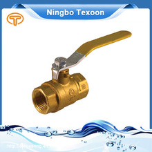 MEXICO AHR BOOTH#1529 Forged NPT full port brass ball valve with new bonnet Stainless Steel Stem and Ball and Handle