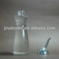 Glass Condiment Seasoning Oil Bottles