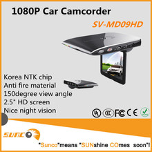 ABS anti fire material car blackbox mini portable car video camcorder, korea NTK high level solution