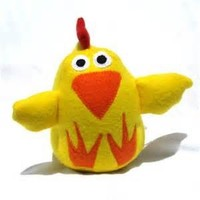 2015 new style plush soft chicken toy animal plush chicken wholesale
