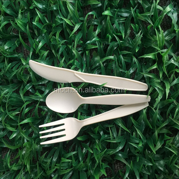 biodegradable corn starch cutlery for America