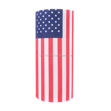 Print Country flag seamless tube bandana