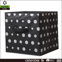 Household Essentials Print Non-Woven Foldable Storage Cube