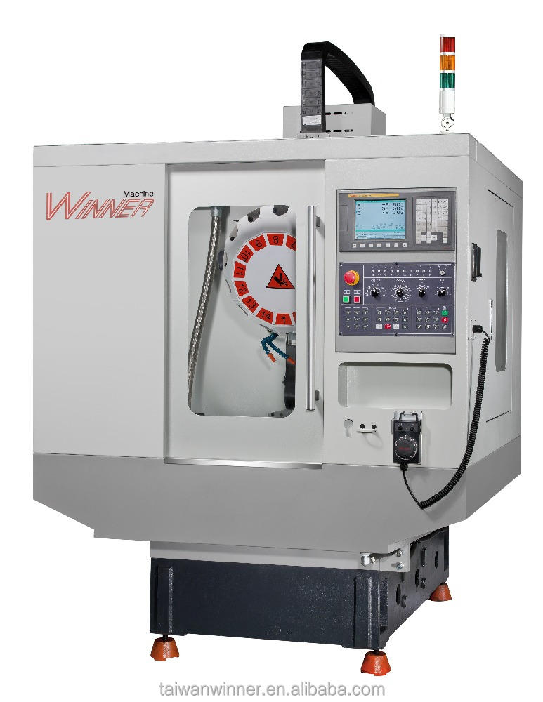 AP500 - CNC 3 axis Vertical Drilling/Tapping Machine center - High Efficiency and Stability and Quality CNC Drill machine price