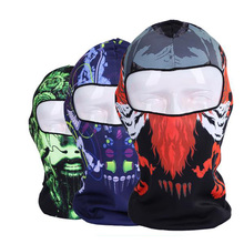 new unisex outdoor motorcycle balaclava winter custom printed ski mask cheap