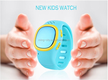 Hot sell kids GPS smart watch SOS call remote monitor alarm clock with GSM + GPS + Wifi +LBS positioning for SOS and safety