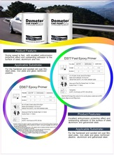 Factory price 2K best selling epoxy primer car paint