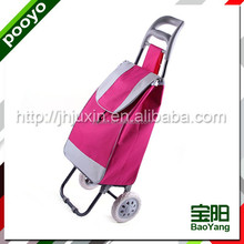 Factory price portable wheeled shopping trolley bag,The cheapest Foldable storage Luggage cart