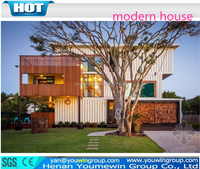 easy assembled prefab modular house container coffee shop mobile smart home, modern house