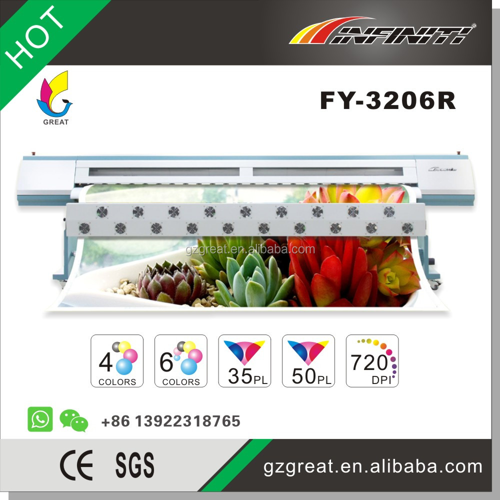 Super Fast Speedy Monster - Large Format Outdoor Banner Solvent Printer FY-3206R