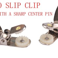 NO SLIP CLIP SUSPENDERS WITH A