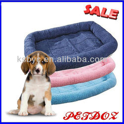 pink dog bed crated pad
