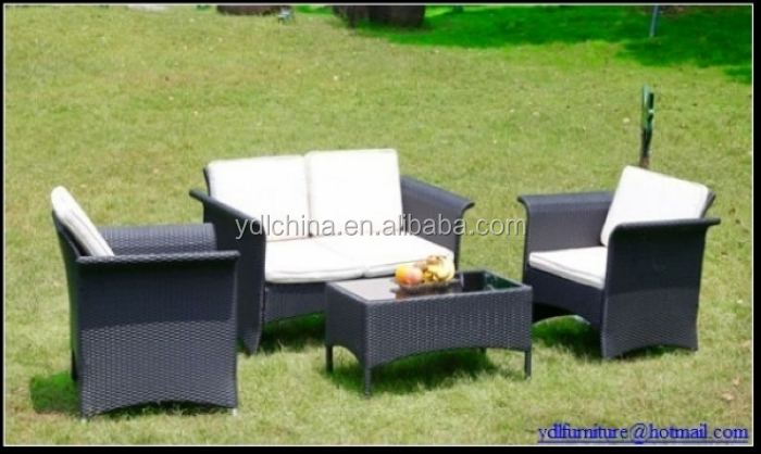 modern outdoor wicker garden furniture set YKD-01C