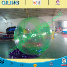 2016 Qi Ling 2m TI zip colorful inflatable water walking ball