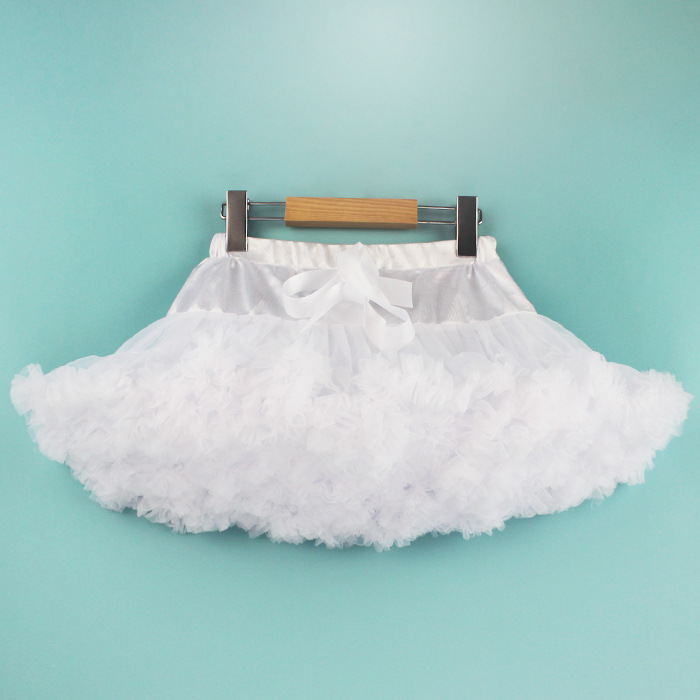 blue tulle princess tutu pettiskirt/blue shell 30 color women mesh princess dress/ dancing pettiskirt