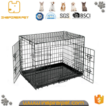 High quality wholesale wire folding dog cage for sale cheap