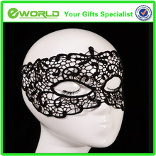 Sexy Lady Women Black Lace Hollow Flower Party Mask Eye Masquerade Fancy Dress