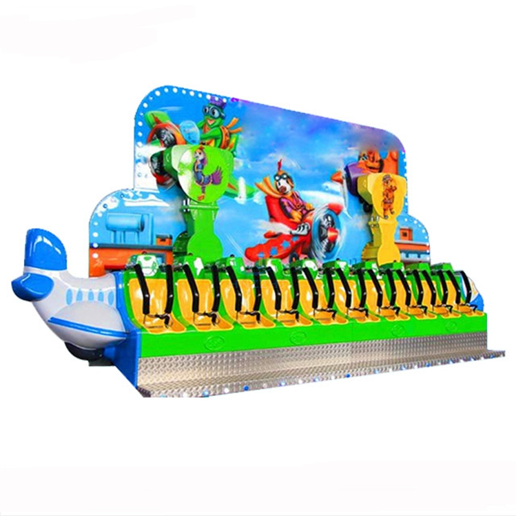 Jumping kid rides small Mini Miami amusement kiddie ride