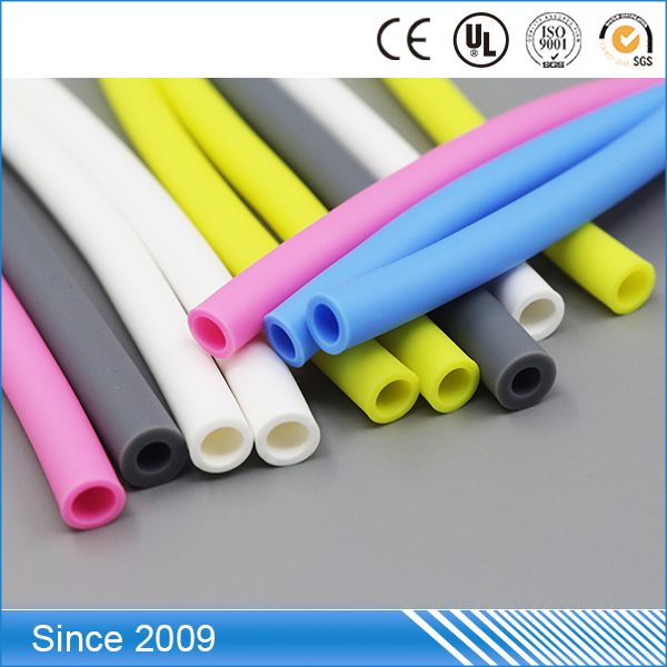 Customized Sizes Colourful FDA Medical Standard Modified soft 3mm plastic tube