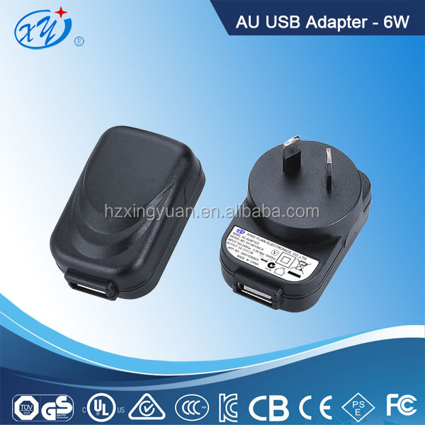 Free sample Universal output 3.7V 1A 2A input 100-240V ac dc power adapter with US UK EU AU plug