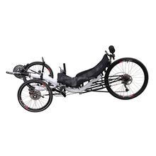 Aluminum Alloy 9 Gears High Speed Tadpole 3 Wheel Recumbent Bike Adult Racing Tricycle
